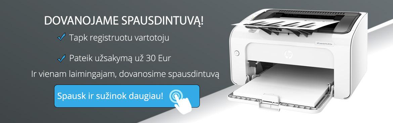 Pirk ir laimėk spausdintuvą! 3 mėnesius dovanosime po spausdintuvą!